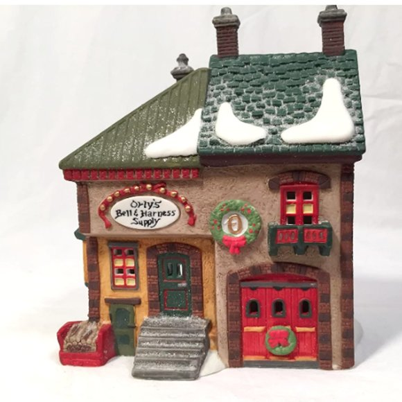 Department 56 Orly's Bell & Harness North Pole Ser